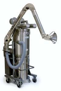 DUST EXTRACTION ARM - STAINLESS STEEL